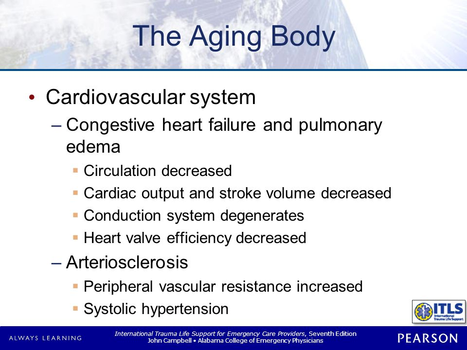 The Aging Body Neurological and sensory function Subdural hematoma