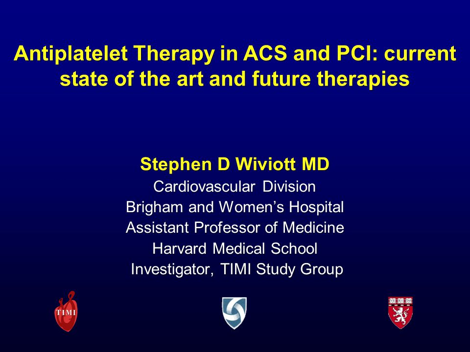 Antiplatelet Therapy in ACS and PCI: current state of the art and future therapies