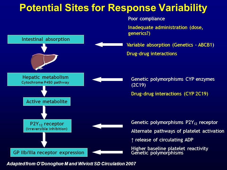 Potential Sites for Response Variability