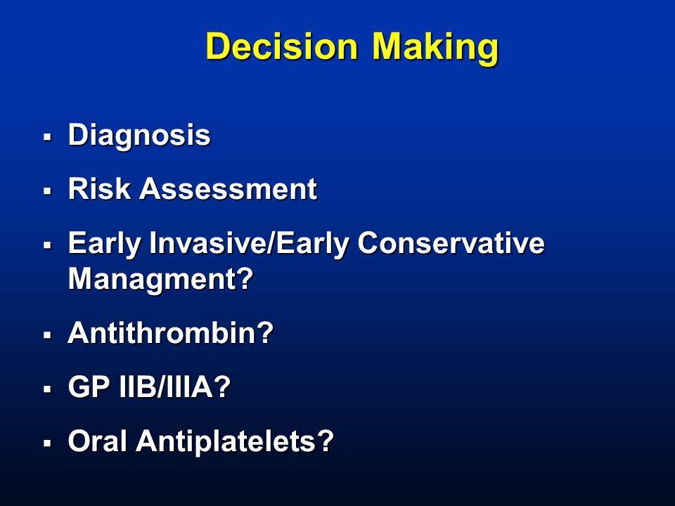 Decision Making Diagnosis Risk Assessment