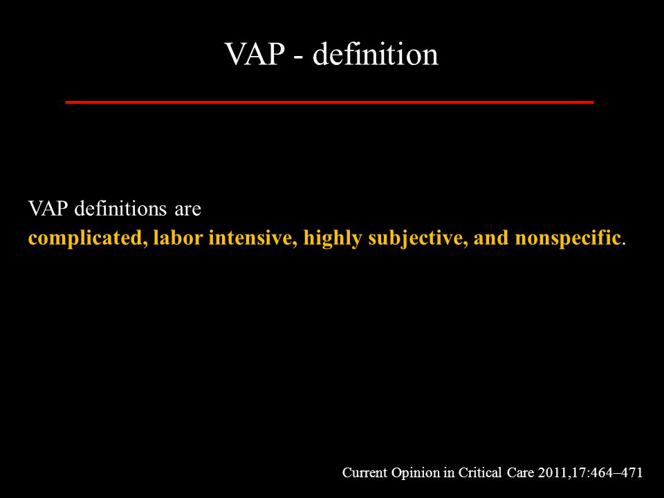 VAP - definition VAP definitions are