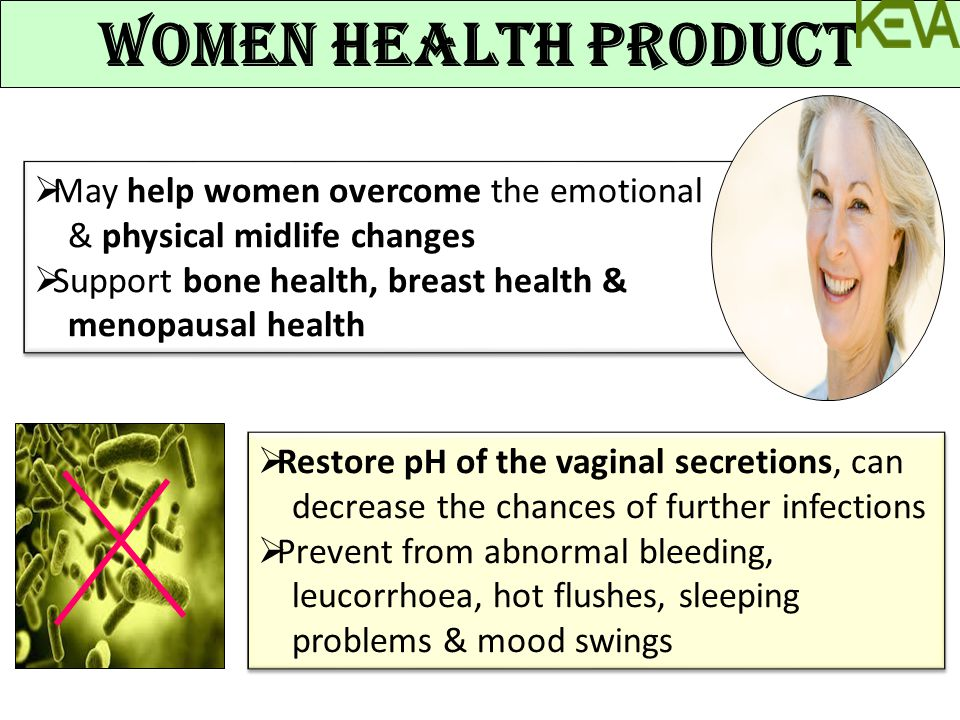 WOMEN HEALTH PRODUCT May help women overcome the emotional