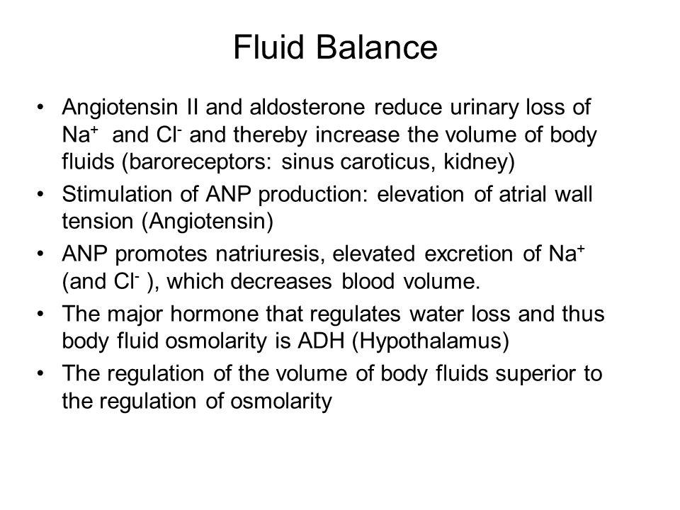 Fluid Balance
