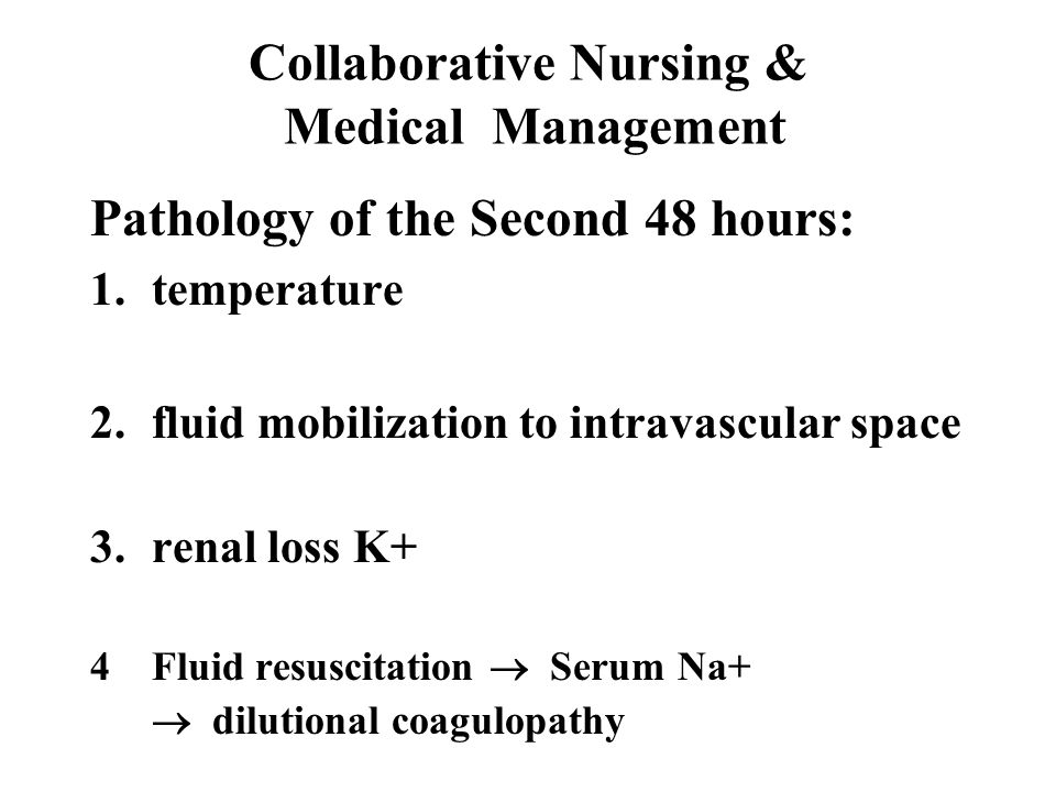 Collaborative Nursing & Medical Management