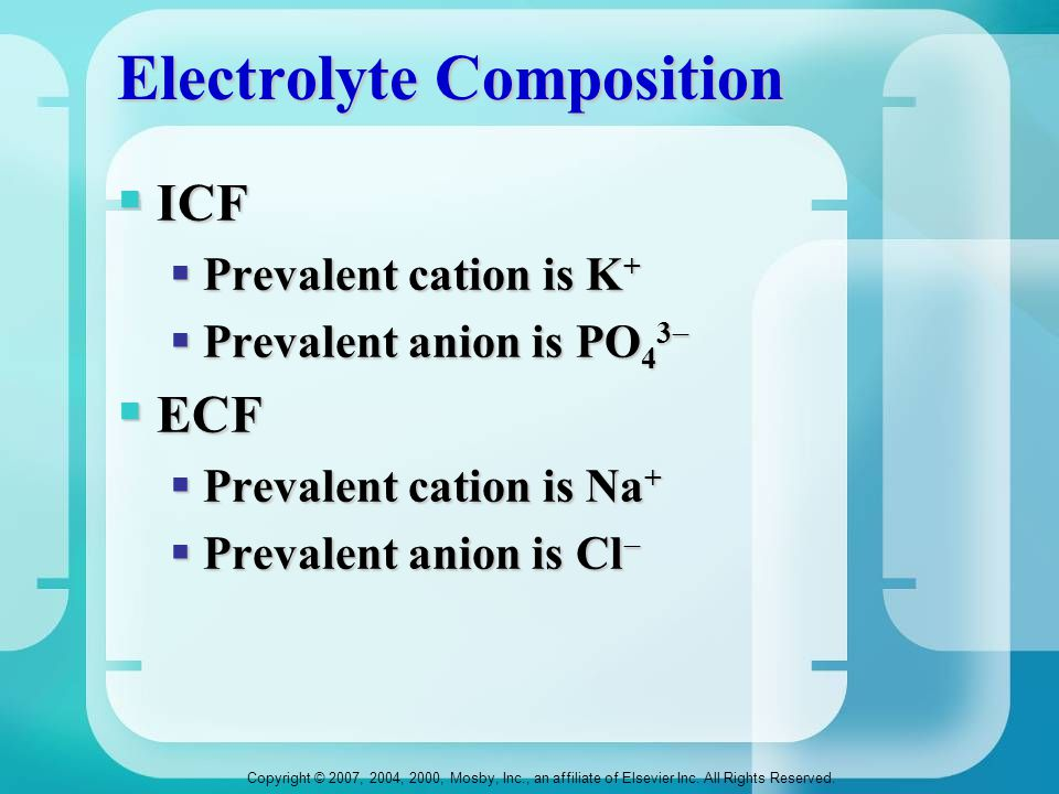 Electrolyte Composition
