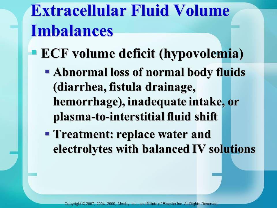 Extracellular Fluid Volume Imbalances