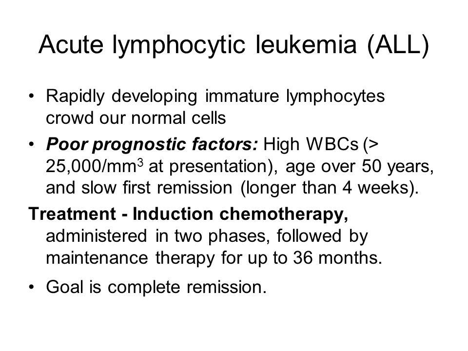 Acute lymphocytic leukemia (ALL)