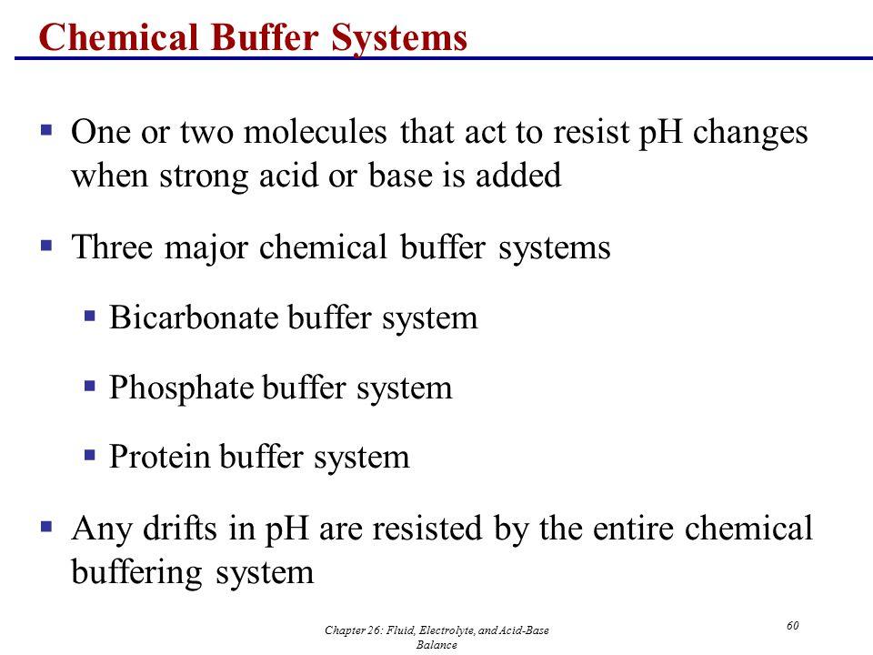 chemistry buffers bicarbonate buffers
