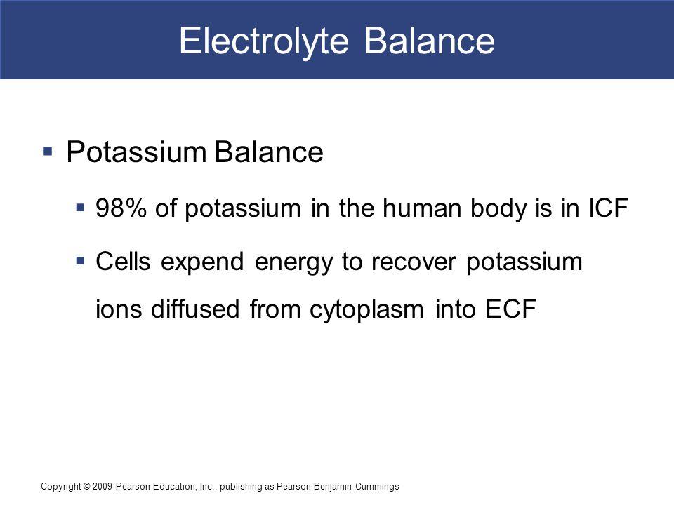 Electrolyte Balance Potassium Balance