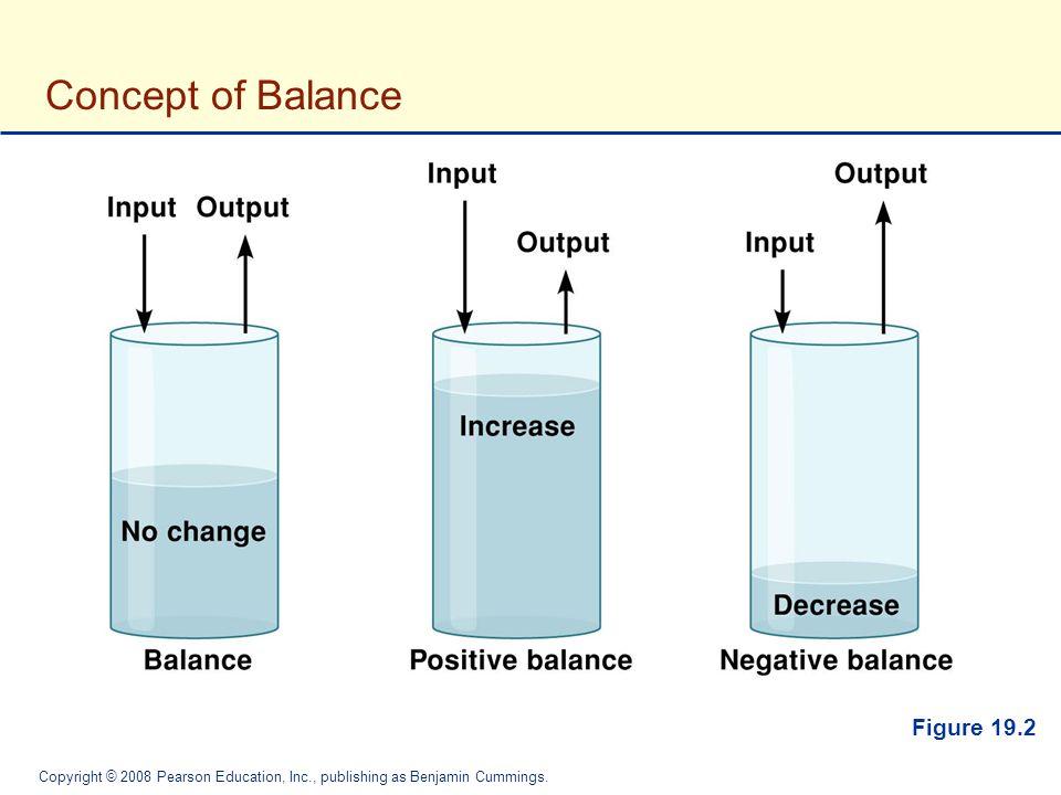 Concept of Balance Figure 19.2