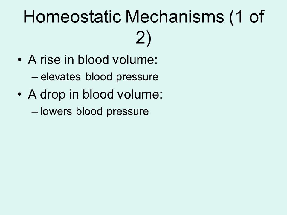 Homeostatic Mechanisms (1 of 2)