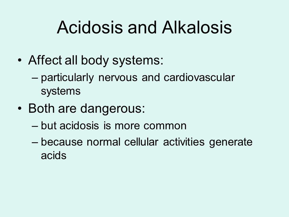 Acidosis and Alkalosis