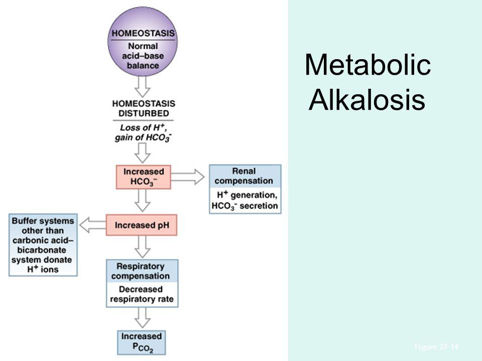 Metabolic Alkalosis Figure 27–14