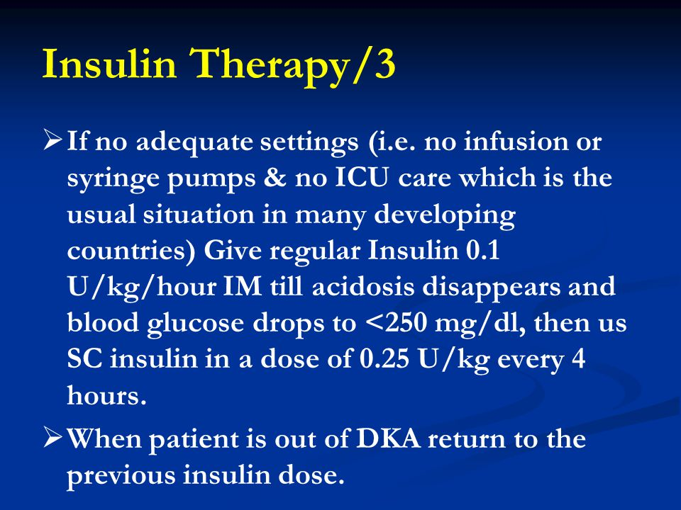 Insulin Therapy/3