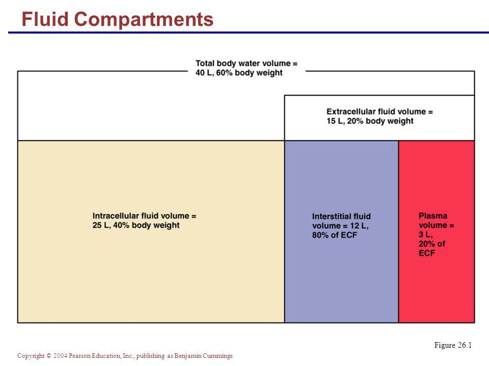 Fluid Compartments Figure 26.1