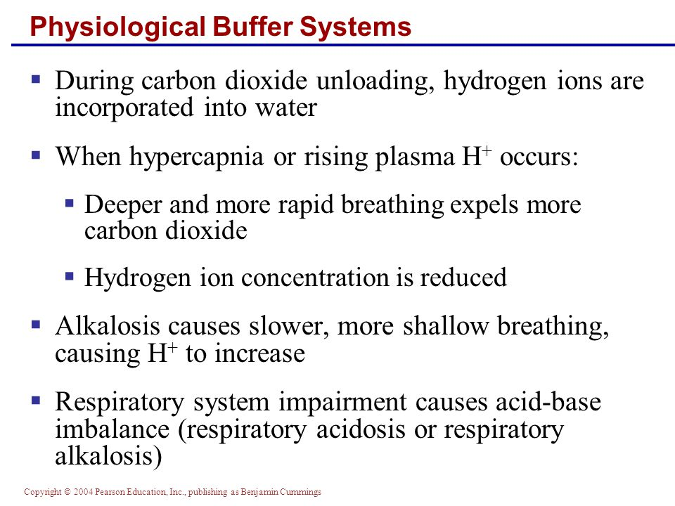 Physiological Buffer Systems