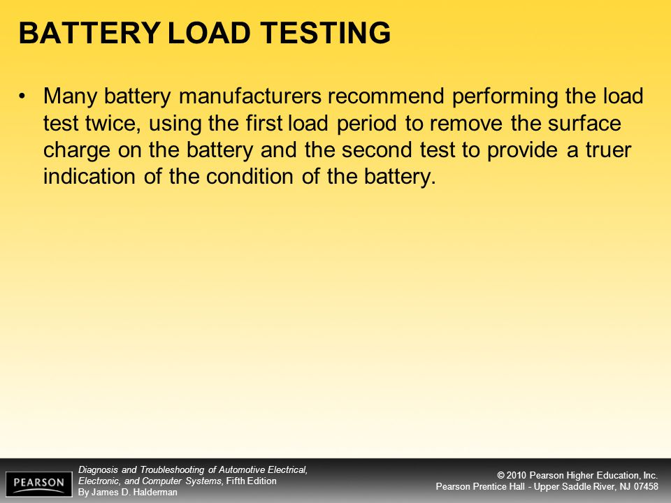 BATTERY LOAD TESTING