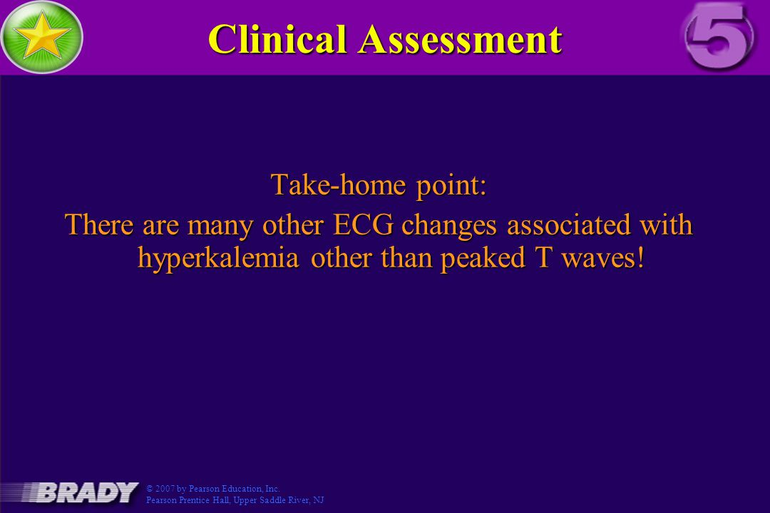 Clinical Assessment Take-home point: