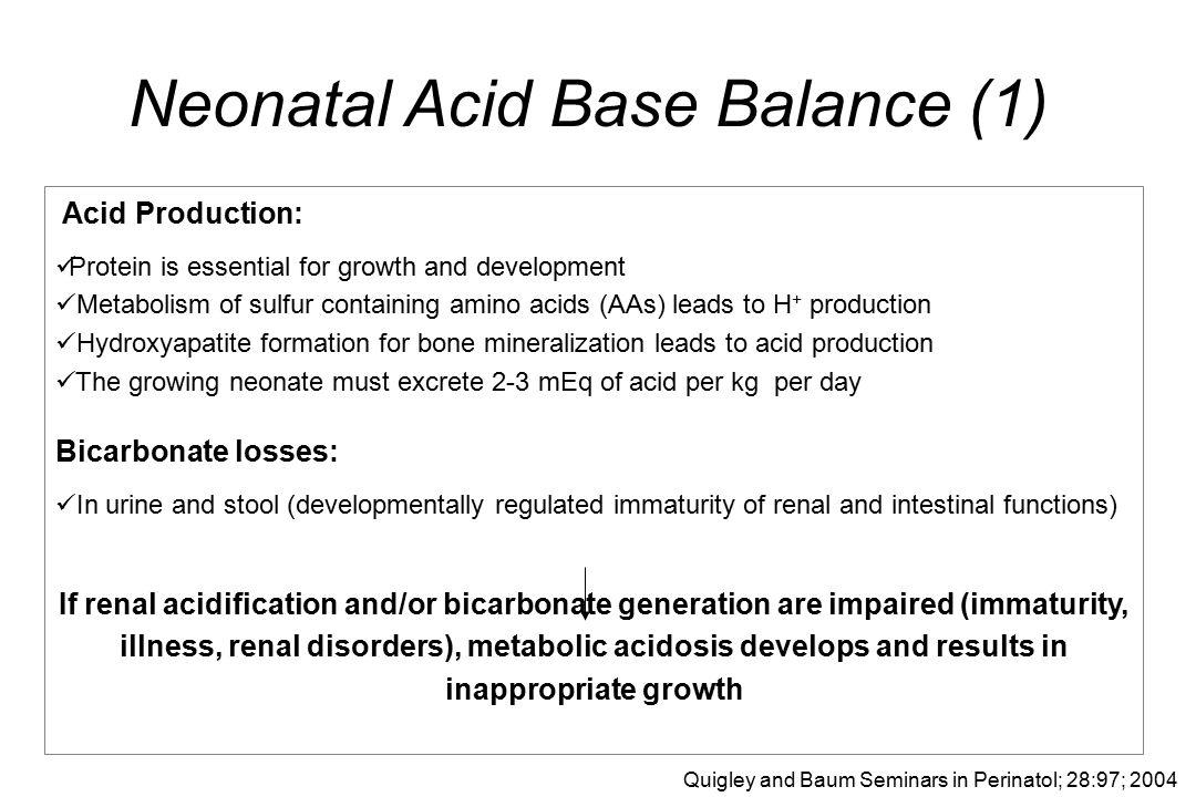Neonatal Acid Base Balance (1)