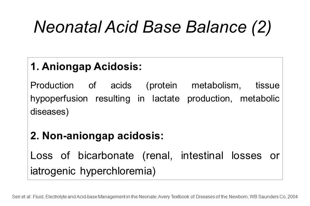 Neonatal Acid Base Balance (2)