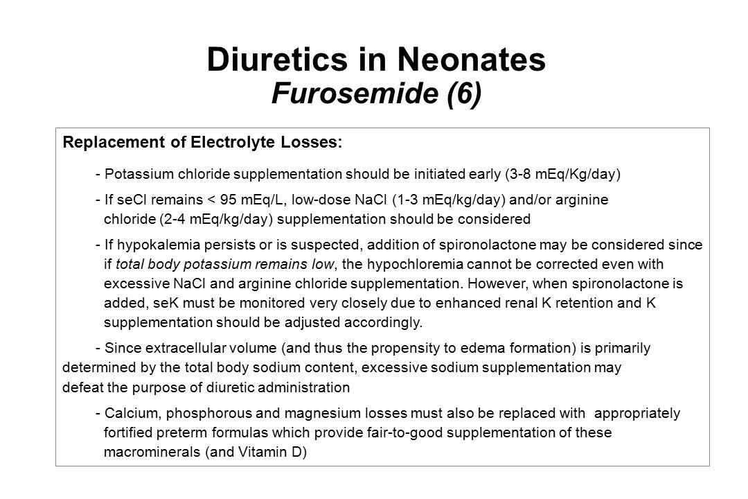 Diuretics in Neonates Furosemide (6)