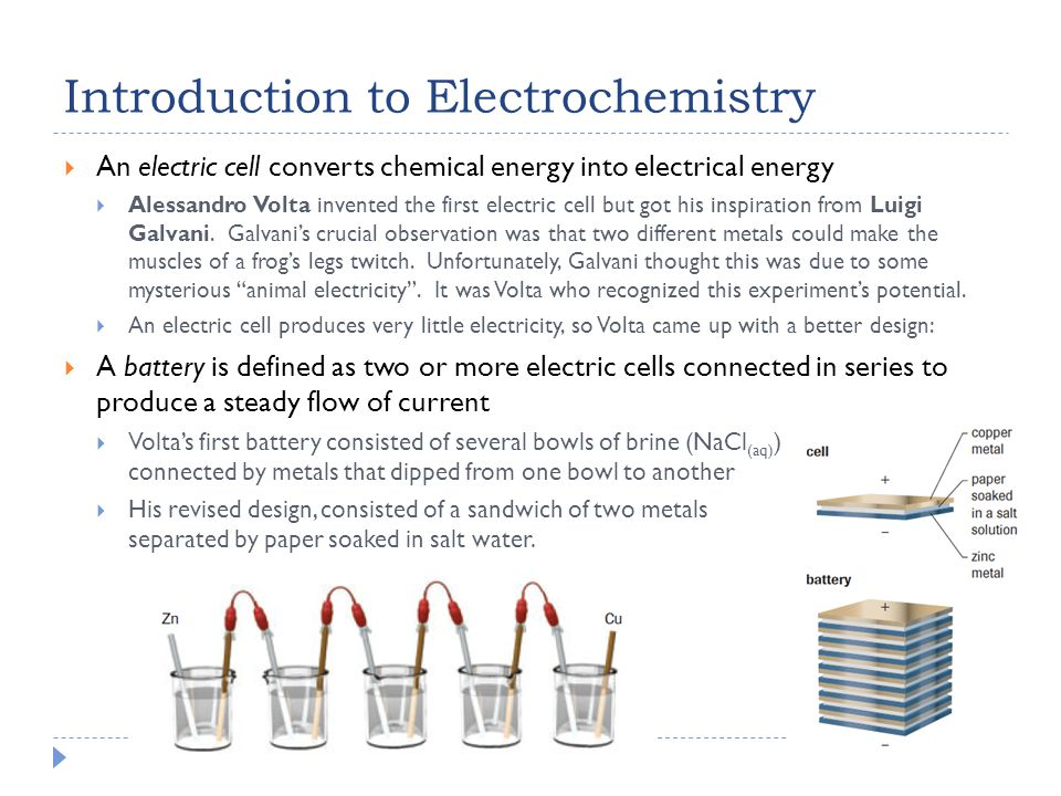 investigation into aqueous electrolytic cells essay In an electrolytic cell, electricity (a flow of electrons) is used to bring about a chemical  you also need to carry out a practical investigation into factors that affect the efficiency of a  through an aqueous solution of zinc sulfate and copper sulfate the concentrations of the.