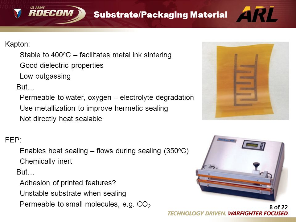 Substrate/Packaging Material