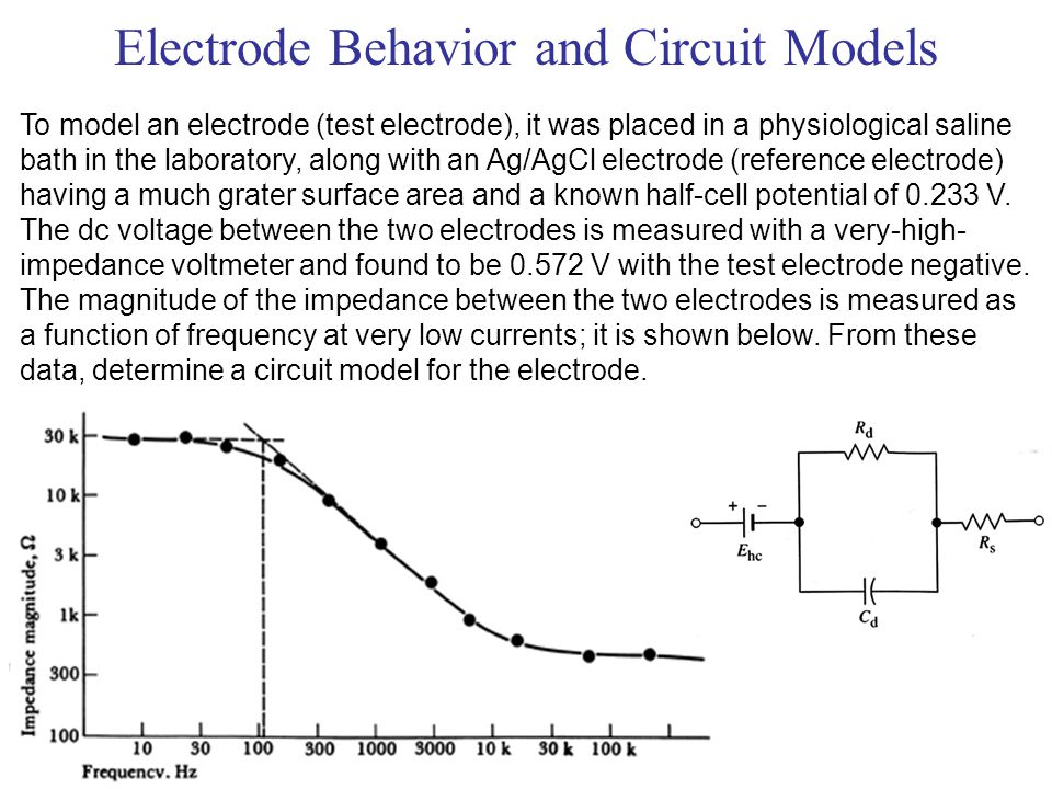 Electrode Behavior and Circuit Models