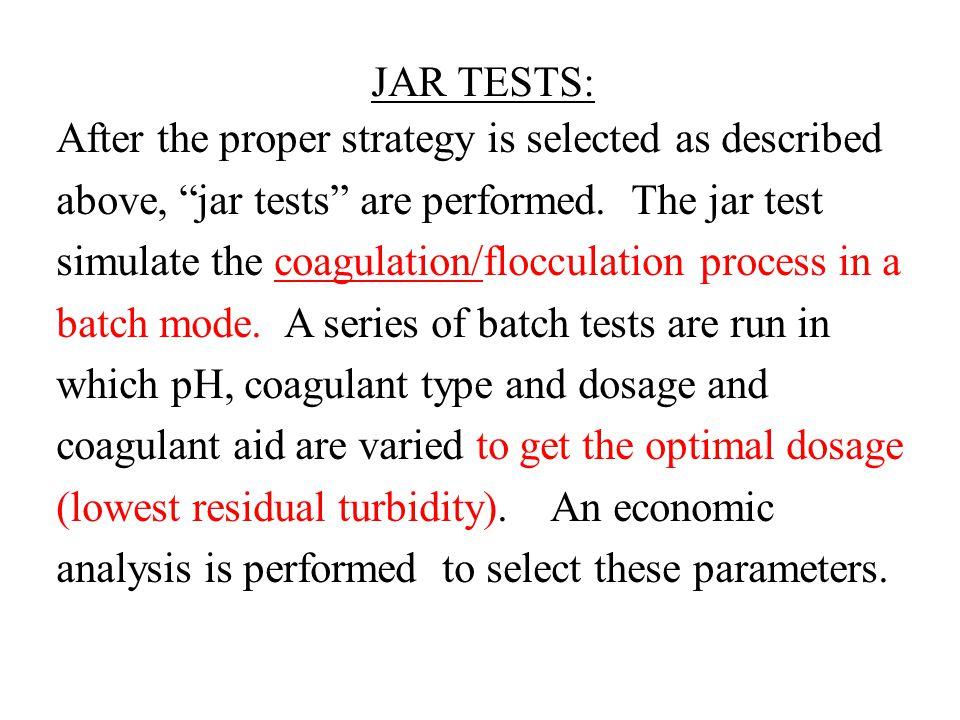 JAR TESTS:
