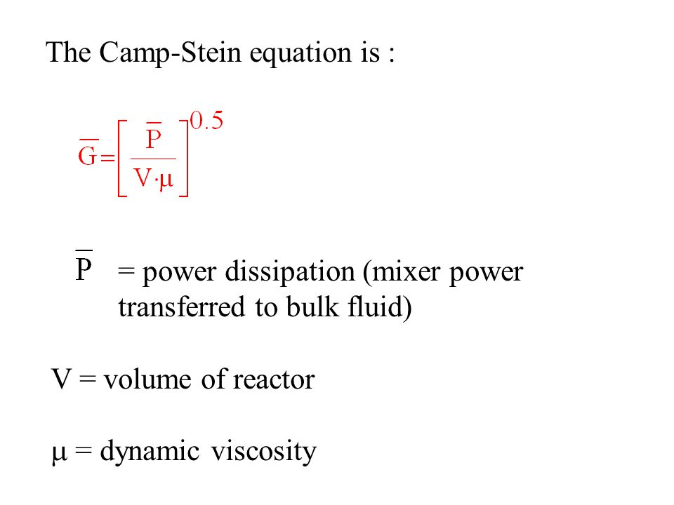 The Camp-Stein equation is :