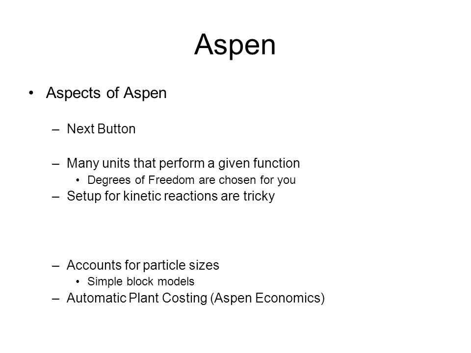 Aspen Aspects of Aspen Next Button