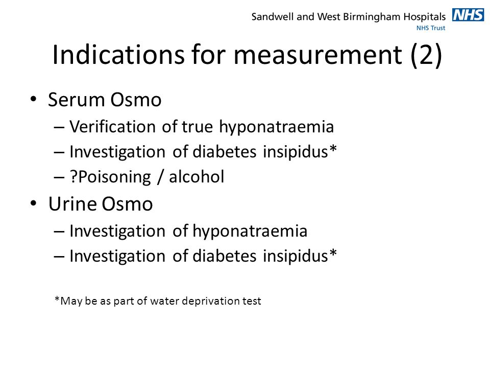 Indications for measurement (2)