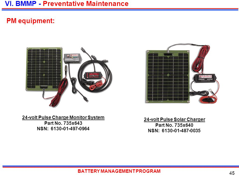 24-volt Pulse Charge Monitor System 24-volt Pulse Solar Charger