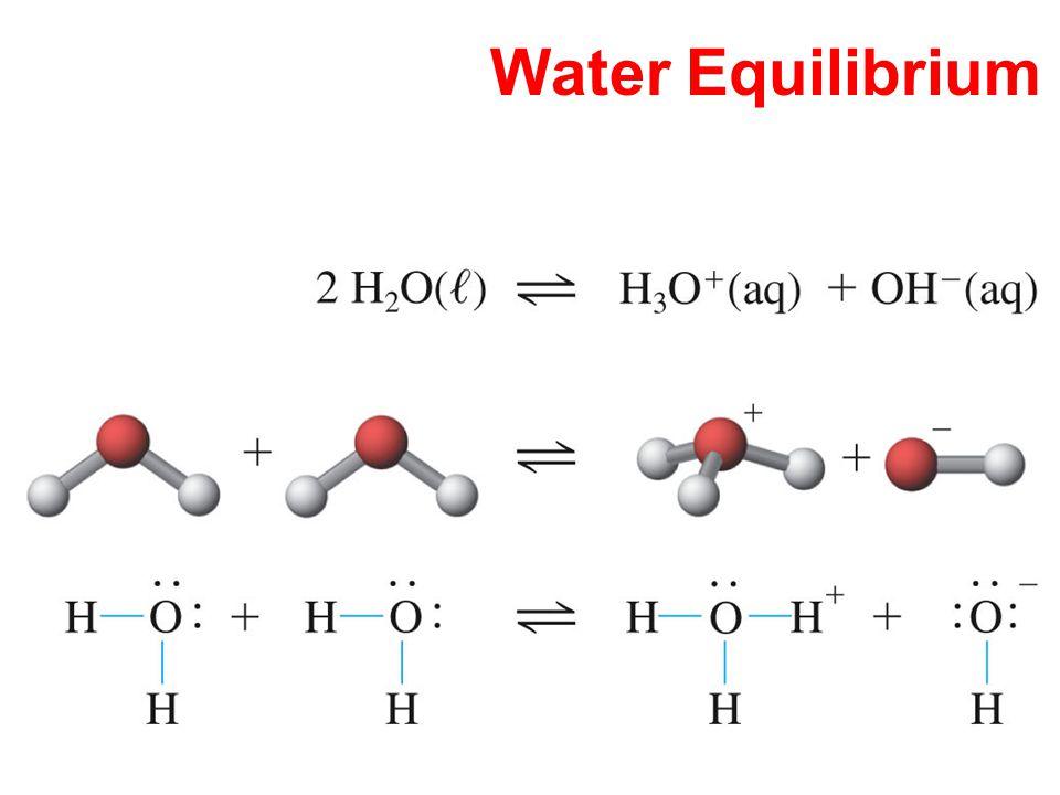 Water Equilibrium