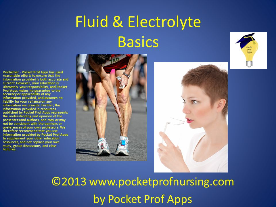 Fluid & Electrolyte Basics