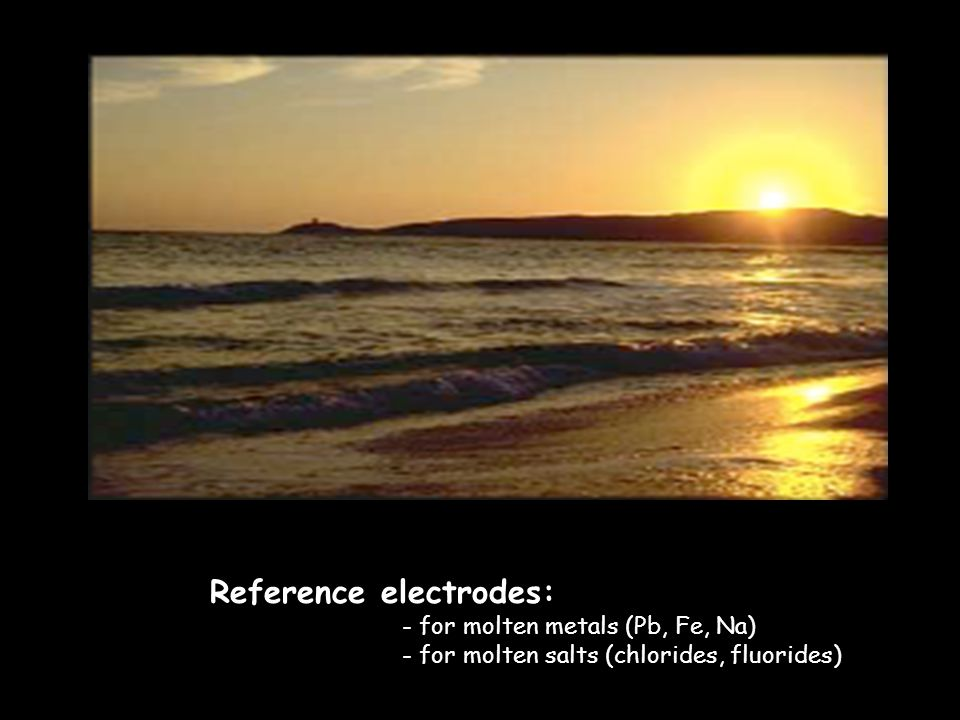 Reference electrodes: