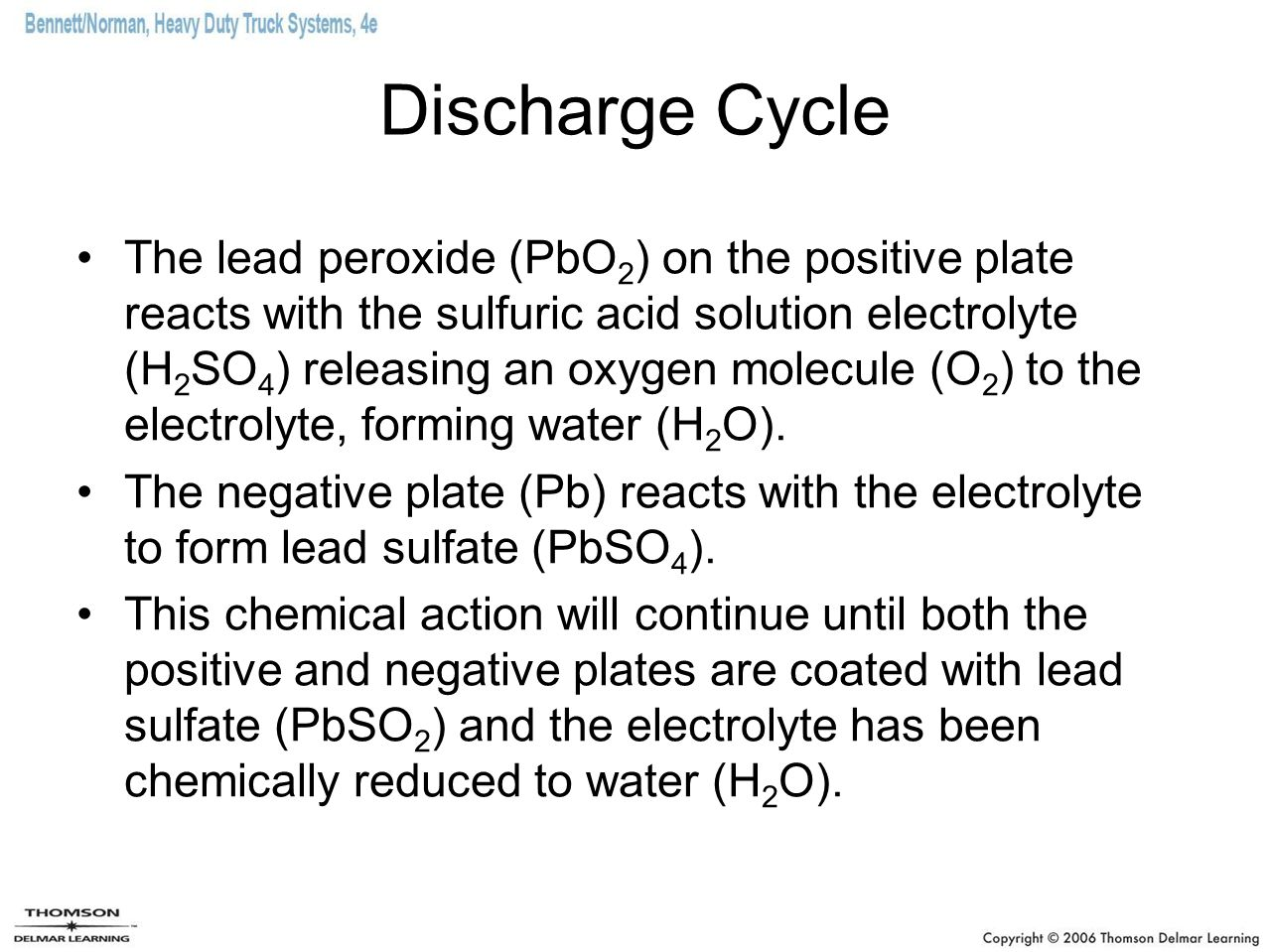 Discharge Cycle