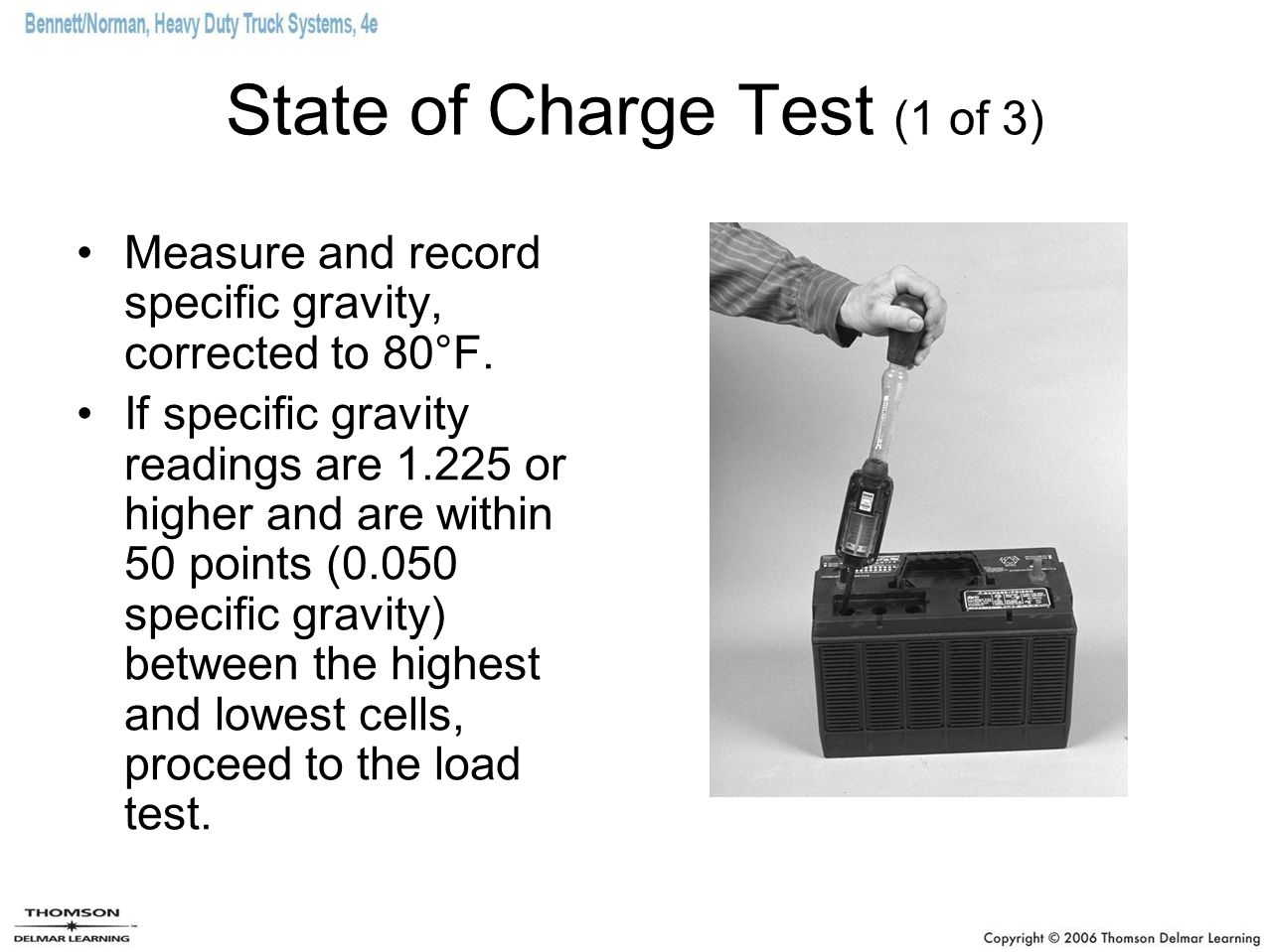 State of Charge Test (1 of 3)