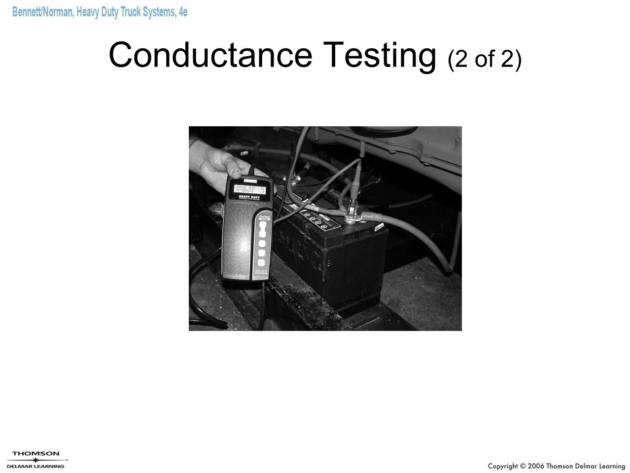 Conductance Testing (2 of 2)