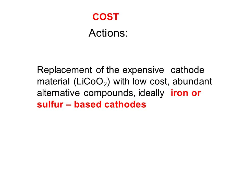 COST Actions: