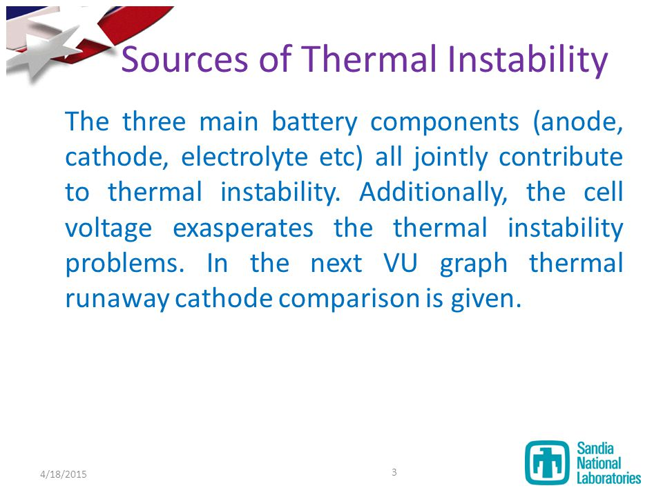Sources of Thermal Instability