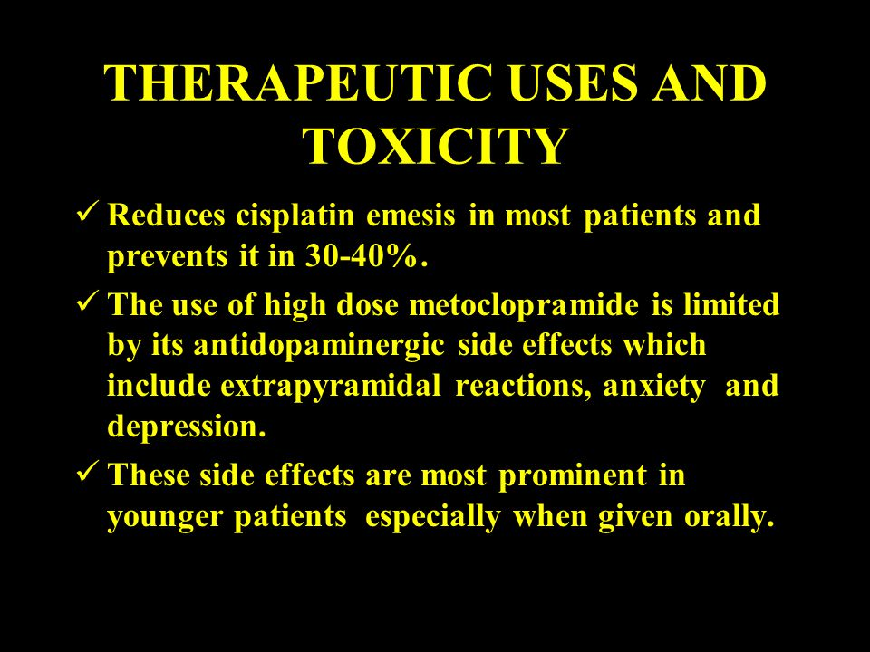 THERAPEUTIC USES AND TOXICITY