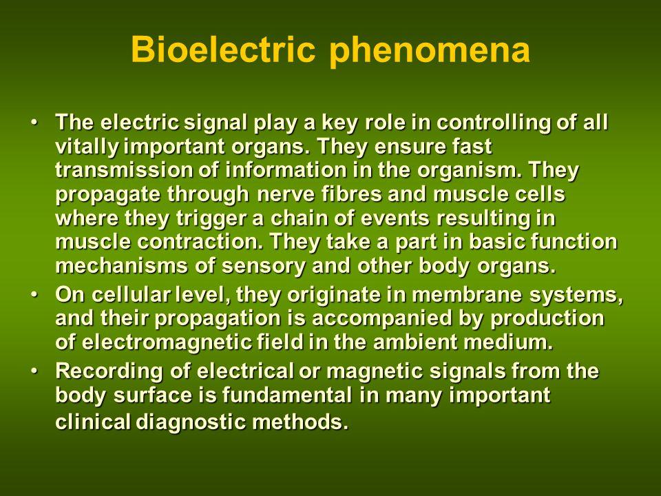 Bioelectric phenomena