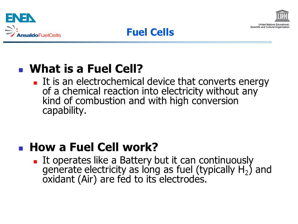 What is a Fuel Cell How a Fuel Cell work Fuel Cells