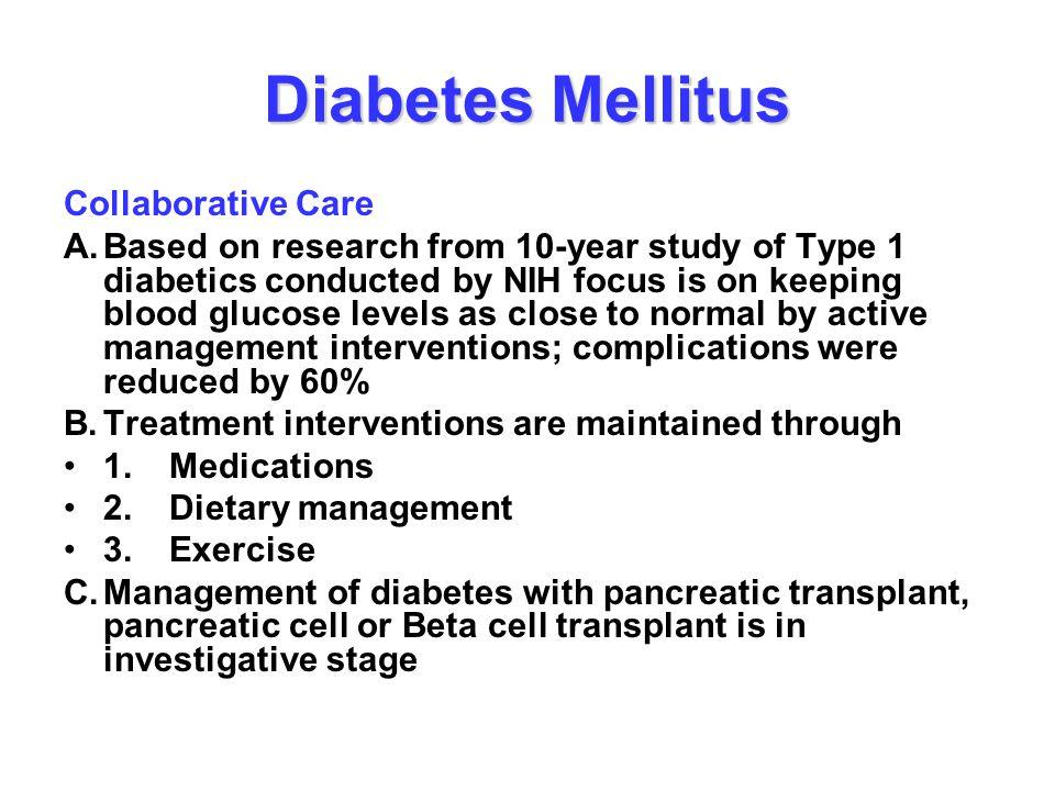 Diabetes Mellitus Collaborative Care