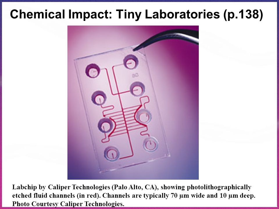 Chemical Impact: Tiny Laboratories (p.138)