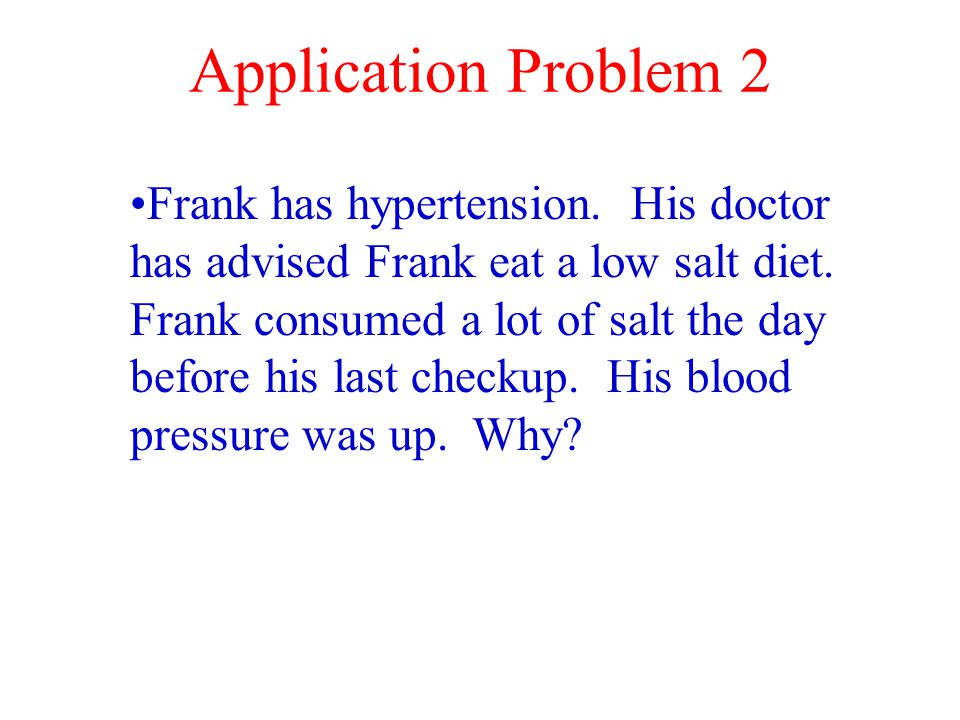 Application Problem 2