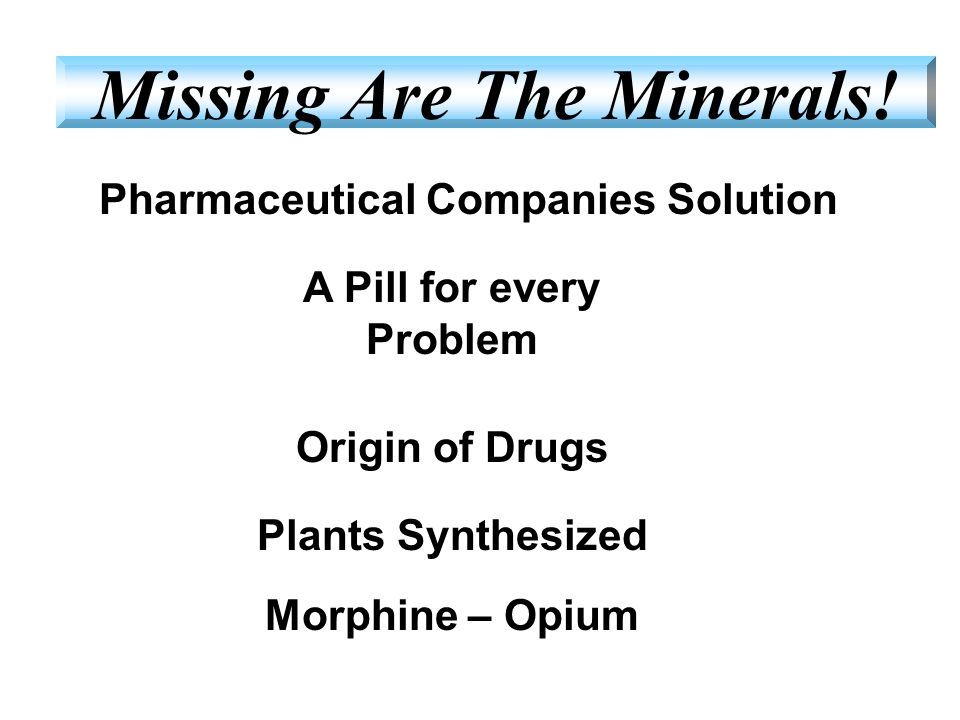 Pharmaceutical Companies Solution