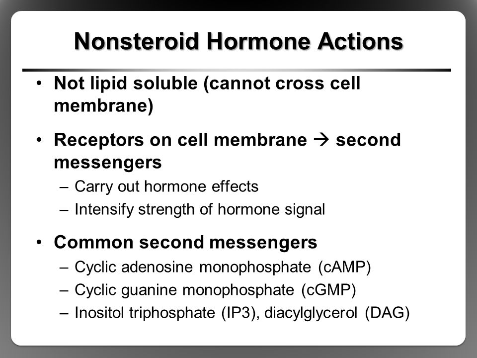 Nonsteroid Hormone Actions