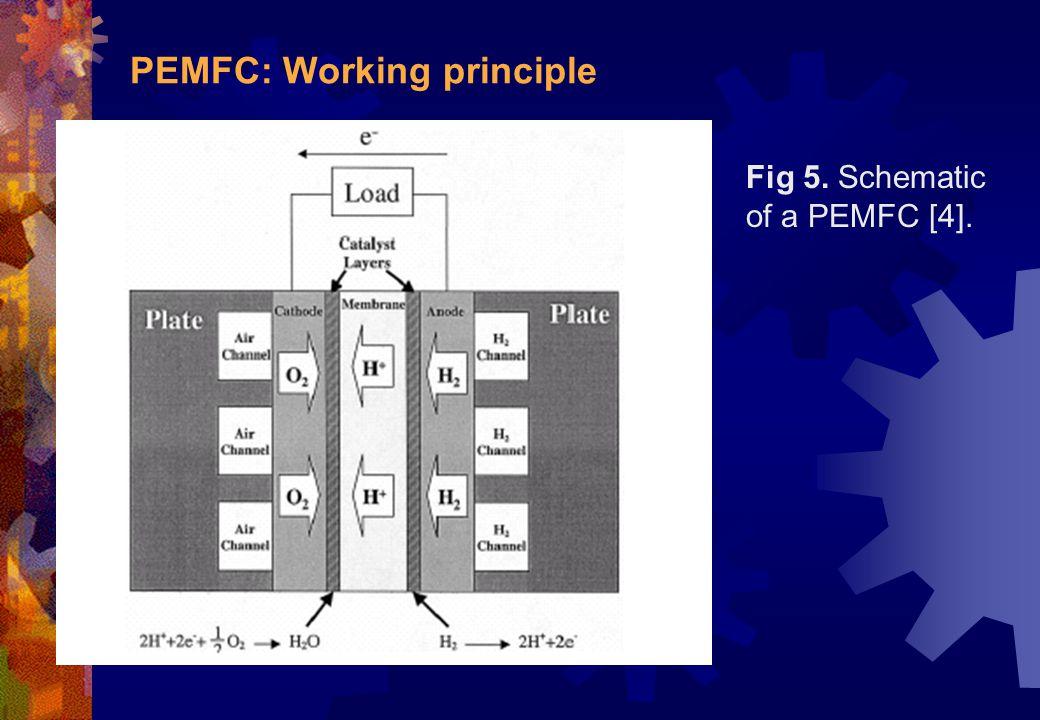 PEMFC: Working principle
